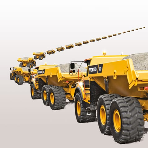 cwa volvo trucks discover a new way digger line