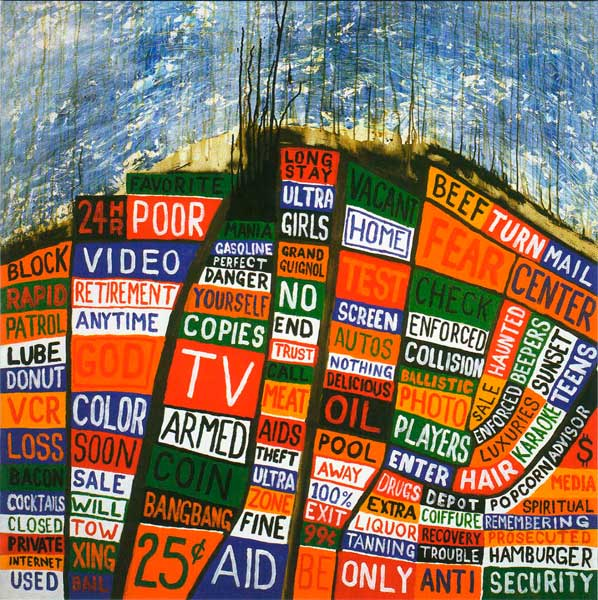 radiohead hail to the thief album cover