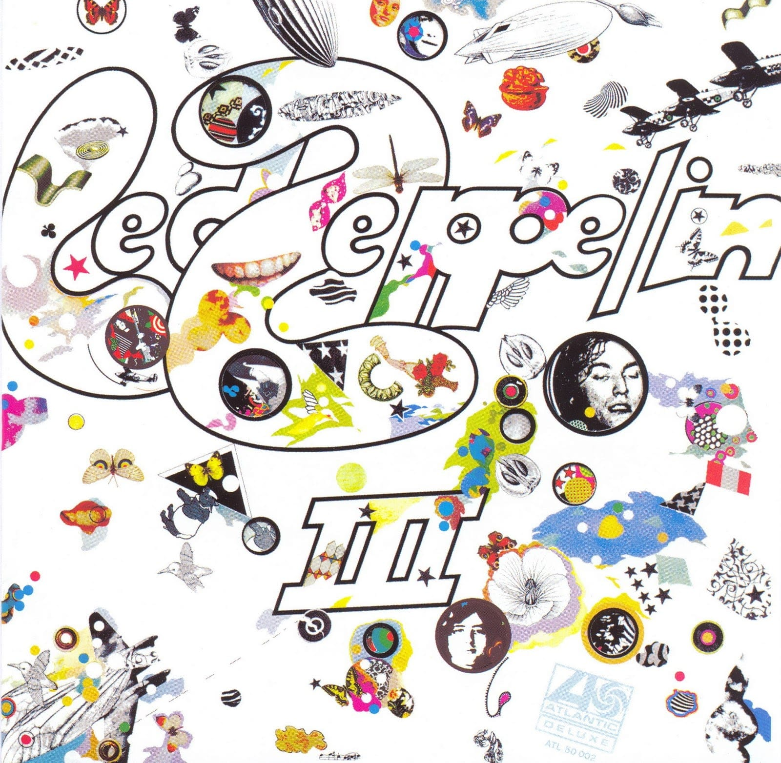 led zeppelin III album cover