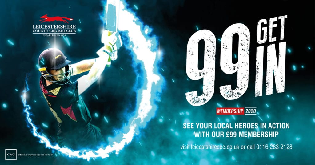 Leicestershire County Cricket Membership Campaign Creative