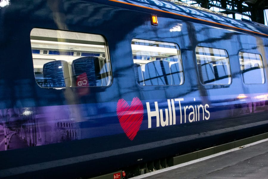 Hull Trains Paragon Fleet Launch