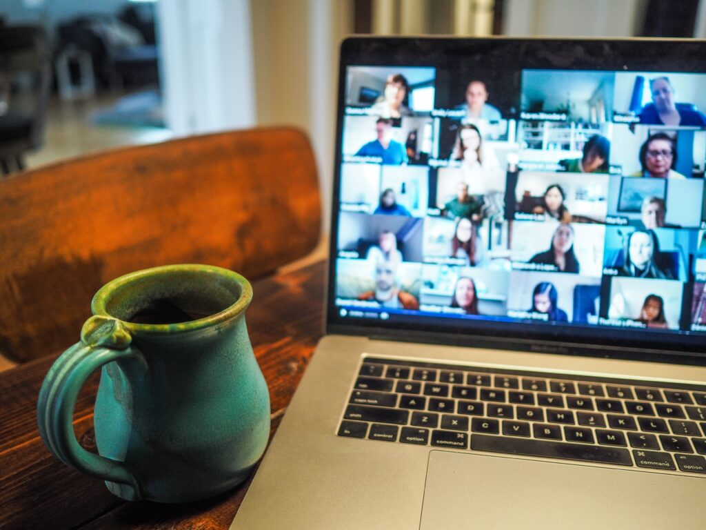 CWA maintaining client services working at home with video conferencing