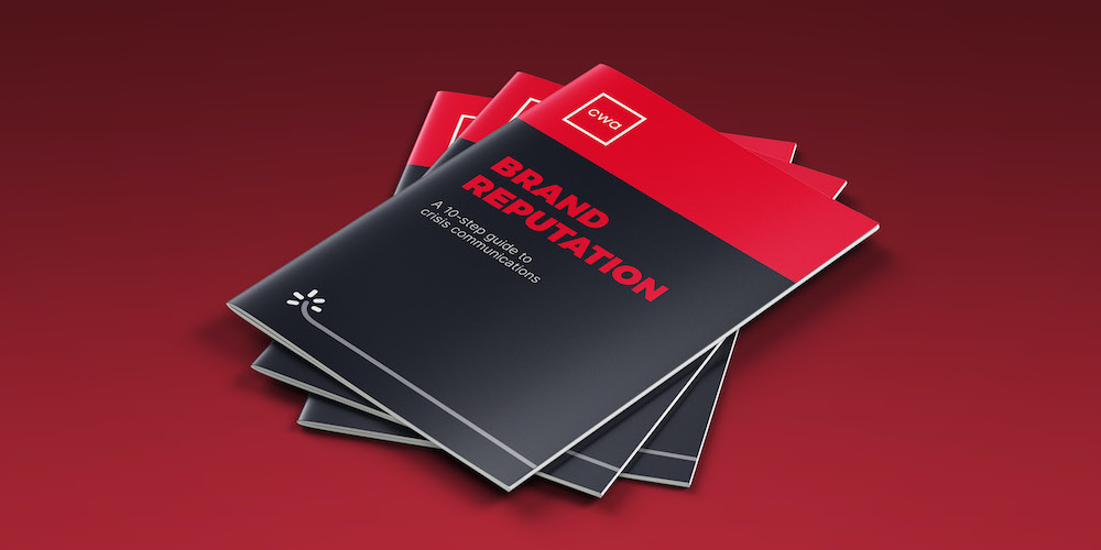 Download our brand reputation eBook for more insights to crisis comms.